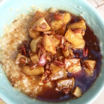 Maple Apple Pecan Oats