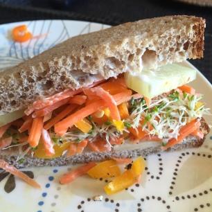 Garden Fresh Sandwich