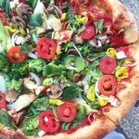 Blaze Pizza creation
