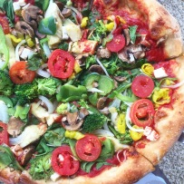 Blaze Pizza creation
