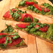 Basil Pesto Pizza