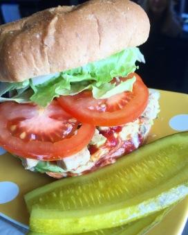 Ultimate Chickenless Sandwich